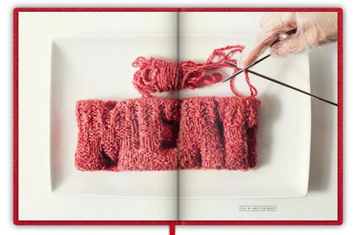 koert van mensvoort knitted meat