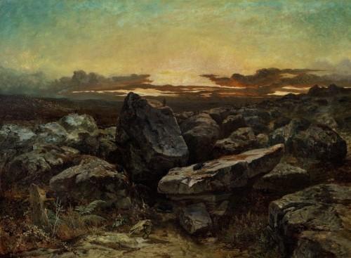 martinus kuytenbrouwer rotsen bij gorges d_apremont 1845 klein